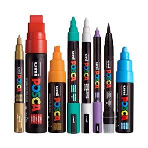 view POSCA MARKERS products