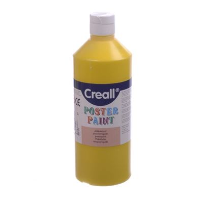 CREALL POSTER PAINT YELLOW 1L