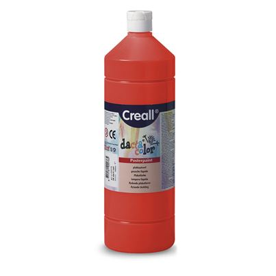 CREALL POSTER PAINT RED 1L