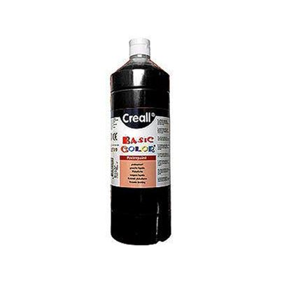 CREALL POSTER PAINT BLACK 1L