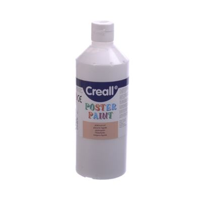 CREALL POSTER PAINT WHITE 1L