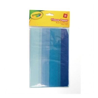 CRAYOLA CRAFT TISSUE BLUE