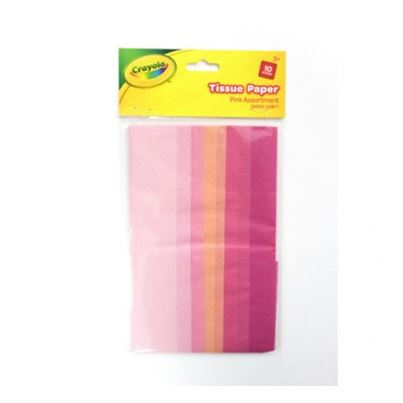 CRAYOLA CRAFT TISSUE PINK