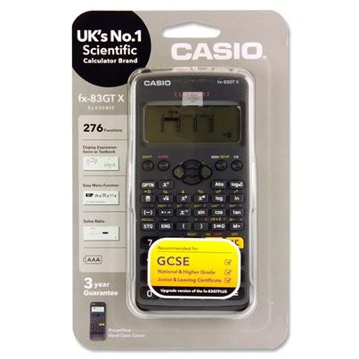 SCIENTIFIC CALCULATOR FX83GTX