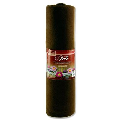 FELT ROLL BROWN 45X5M