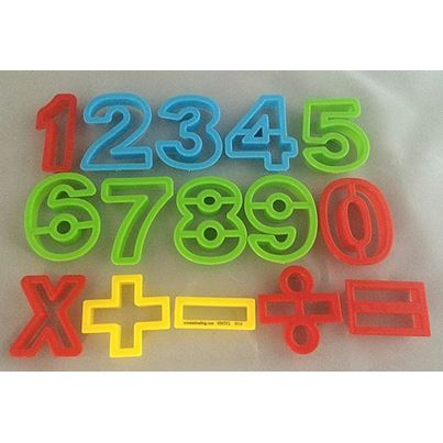 DOUGH CUTTER NUMBERS