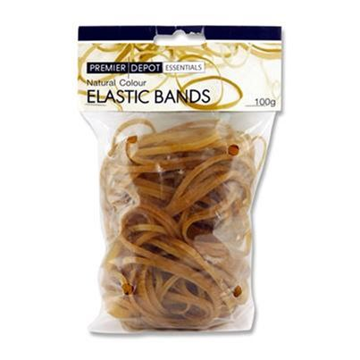 RUBBER BANDS ASSORTED 100GM