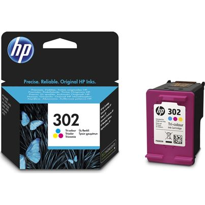 HP No302 Ink Cartridge COLOUR