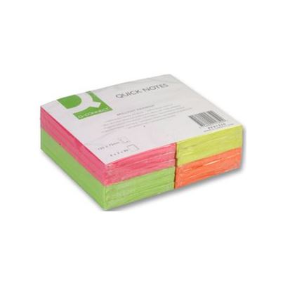 QuickNote 125x75mm NEON PACK12