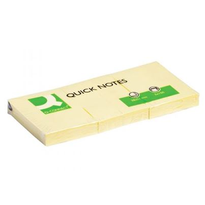 QuickNoteS 38X51mm YELLOW