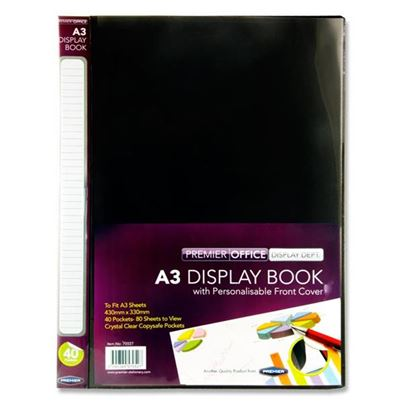A3 DISPLAY BOOK 40POCKET