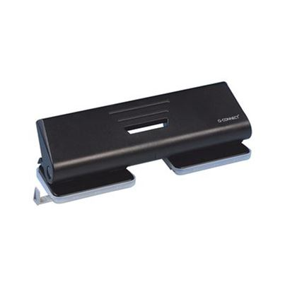 PAPER PUNCH 4 HOLE BLACK