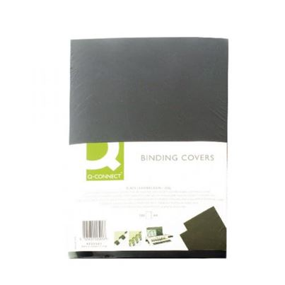 BINDING COVERS BLACK PK100