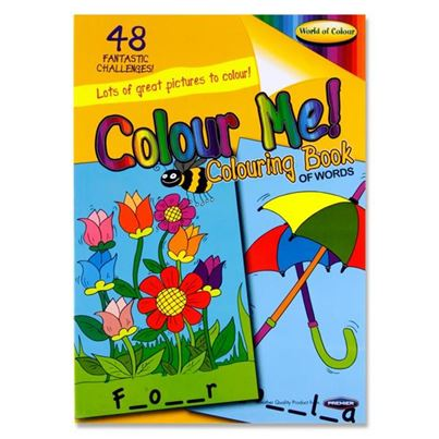 FUN ACTIVITY COLOURING BOOK