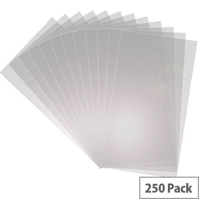 CLEAR COVERS A4 150mic PACK250