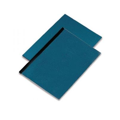 BINDING COVERS BLUE PACK100