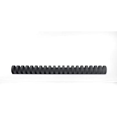 GBC COMB 19MM BLACK 21R (100)