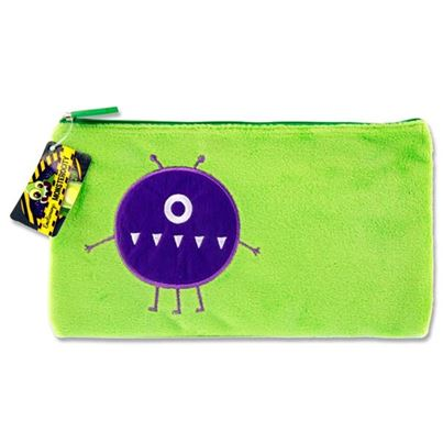 PENCIL CASE MONSTER GREEN