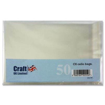 C6 SELF SEAL CELLO BAGS 50