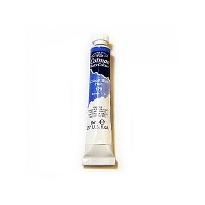 COTMAN W/COLOUR COBALT BLUE