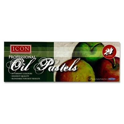 PROFESSIONAL OIL PASTELS 24