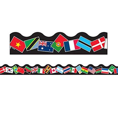 TERRIFIC TRIMMERS WORLD FLAGS
